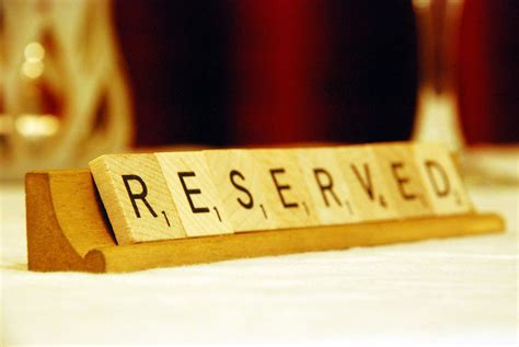 wooden reserved table signs reserved table signs beautiful rustic wooden scrabble