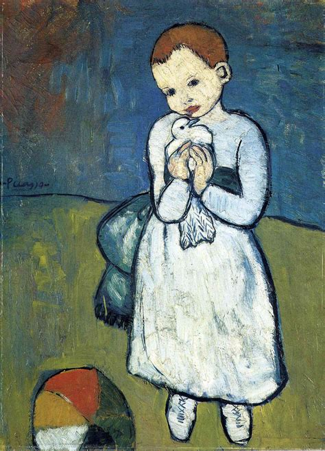 picasso paintings and child why was picasso s child with a dove allowed to leave the