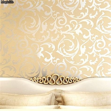 Wallpaper Dinding Classic 9008 the gallery for gt gold floral background