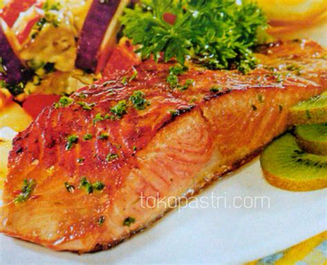 Ikan Salmon Kirimi 3 Pcs 100 Fresh resep cara membuat salmon panggang tumis sayuran tokopastri