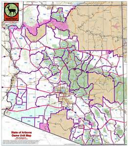 arizona unit maps maps for the southwest including arizona colorado