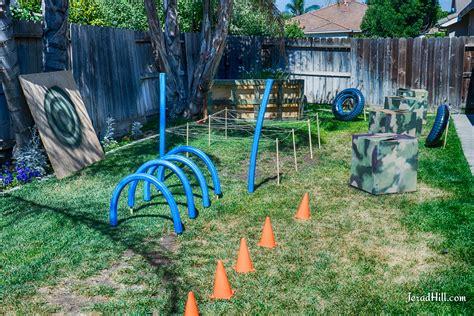 Backyard Nerf Nerf Battle Birthday Nerf Nerf