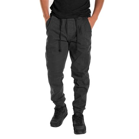 Mens Jogger Casual Black alta fashion s casual jogger with expandable
