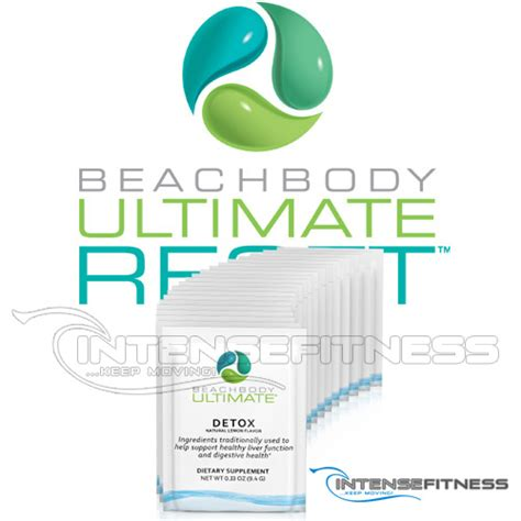 Beachbody Detox Supplement by Ultimate Reset Detox From Beachbody