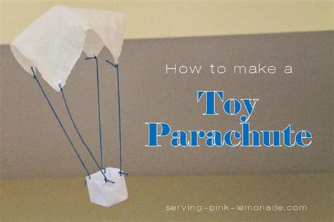 parachutes toys and pink lemonade on