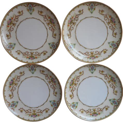 arabella china pattern noritake arabella 4 cream soup liners dessert plates
