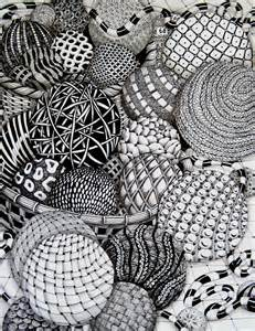 zen of design patterns zentangle balls by missyliss create doodles
