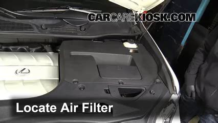 Filter Udara K N Lexus Rx 350 3 5l V6 2010 2013 Kode 33 2443 air filter how to 2010 2015 lexus rx450h 2010 lexus rx450h 3 5l v6