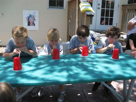 Backyard Ideas For 10 Year Olds Minute To Win It For Summer Happy Home
