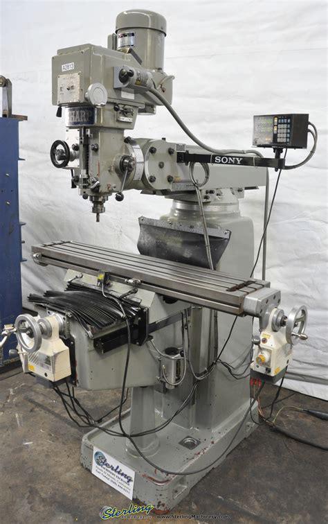 sharp heavy duty vertical milling machine sterling