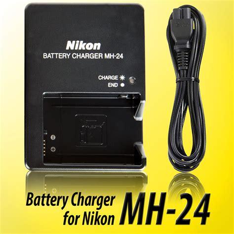 genuine mh 24 nikon charger en el14 en el14a battery d3100 d3200 d3300 d5200 ebay
