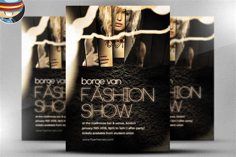 fashion flyers templates for free fashion show flyer template flyer templates on creative
