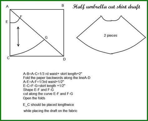 Basic Umbrella Maxi vani s 1 half umbrella cut skirt