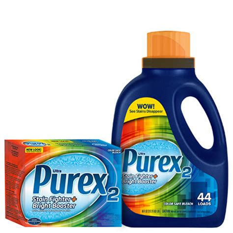 clorox for colored clothes remove tough stains with purex 2 stain fighter and color