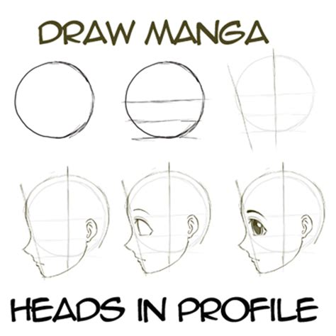 The Hair Book Easy Steps To Great By Lau And Sam Koh how to draw anime faces heads in profile side
