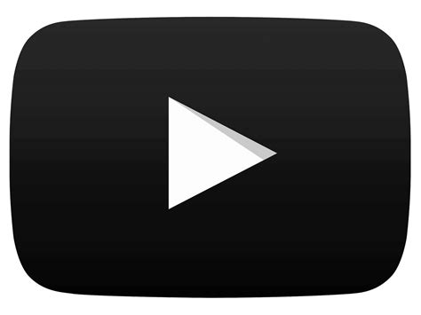 black youtube the gallery for gt youtube black png
