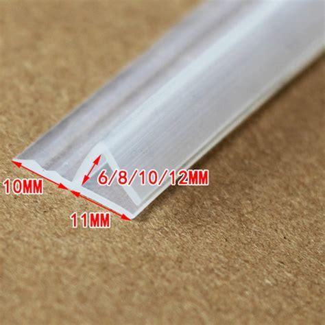 Frameless Glass Door Seals Aliexpress Buy 6 8 10 12mm Glass Seals Frameless Shower Door Window Balcony Screen Sealing