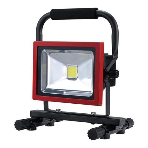 work light designers edge high intensity green 40 led portable work light l1324 the home depot