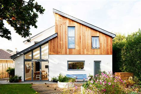 ecological homes angular eco home on a small plot homebuilding renovating