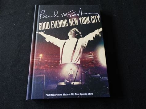 Cddvd Paul Mccartney Evening New York City paul mccartney 4 cd dvd box set evening new york city pl 249 s 6 more cd s and once upon a