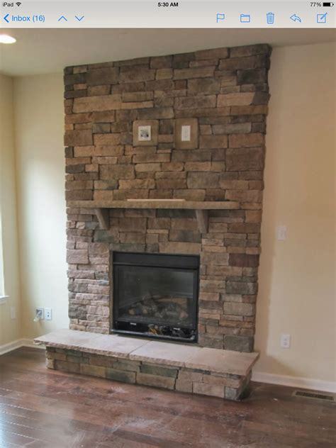 fireplaces with stone stacked stone fireplace with tv mount new house final