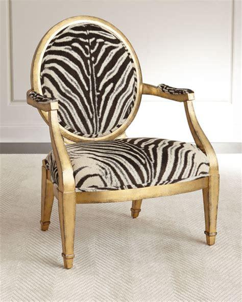 Zebra Print Accent Chair Marlon Zebra Print Accent Chair