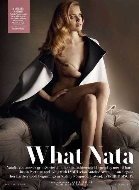 Vanity Fair Style 75031 by Vodianova Graces The Cover Of Vanity Fair