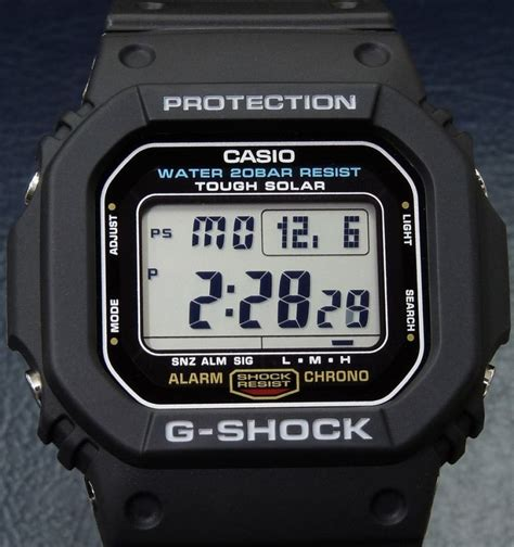 G 5600 Tough Solar new casio g shock digital s tough solar g 5600e