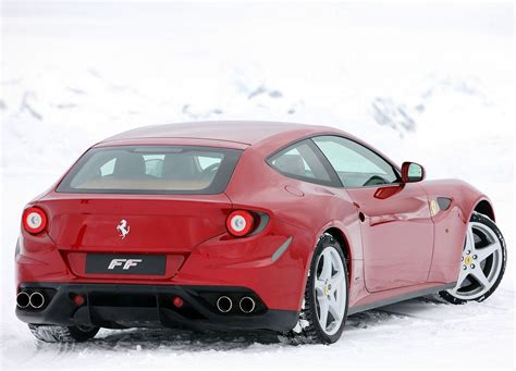 ferrari coupe rear ferrari ff rear view car pictures images gaddidekho com