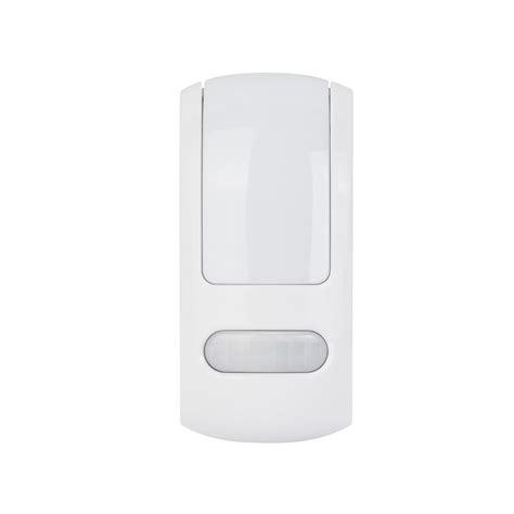 hton bay motion sensor light hton bay led slim profile night light with motion
