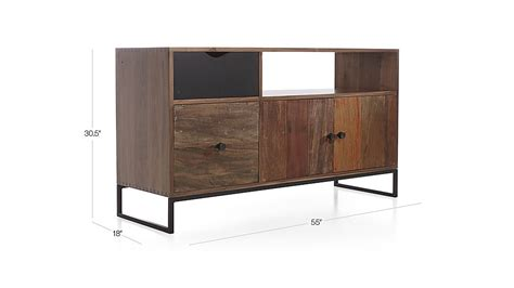 atwood desk for sale atwood reclaimed wood credenza reviews crate and barrel