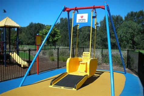accessible swing gofundme caign launched for wheelchair accessible