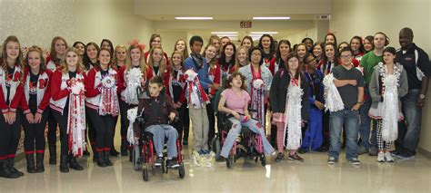 exsm org prom mum sidekicks present homecoming mums to special needs students northeast times