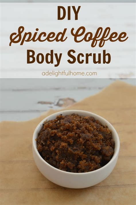 homemade body scrub for ingrown hair diy spiced coffee scrub fingers the coffee and unique gifts