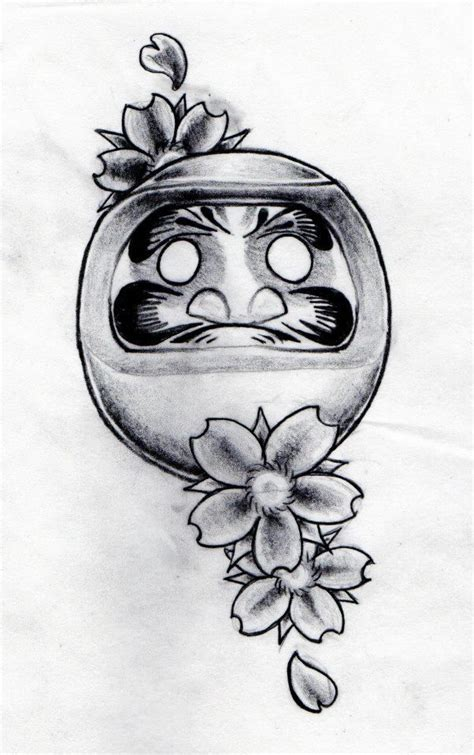 daruma doll drawn by aidan lauren davison radford forge
