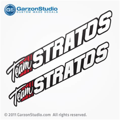 stratos boat wax team stratos boats decals garzonstudio