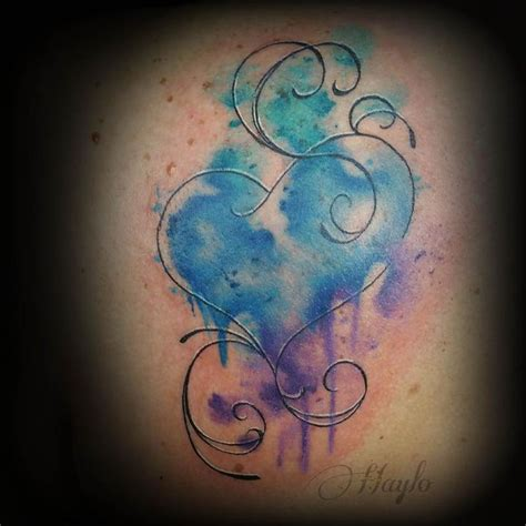 watercolor type tattoos 42 best watercolor images on