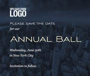 Save The Date Business Event Templates City Save The Date Card Designs