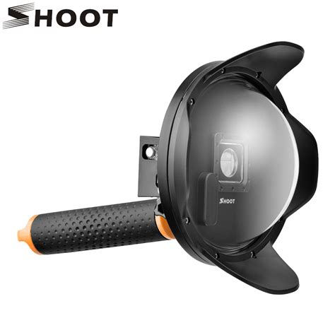 shoot sunshade 6 inch gopro dome port diving dome for