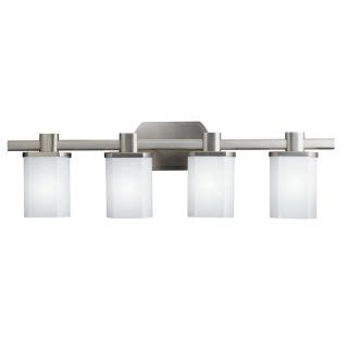kichler lighting 5053ni lege 3 light bathroom light atg kichler 5054ni brushed nickel lege 30 5 quot wide 4 bulb