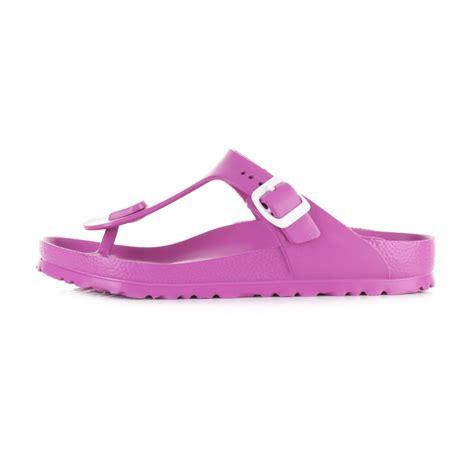 birkenstock waterproof sandals womens birkenstock gizeh pink lightweight waterproof