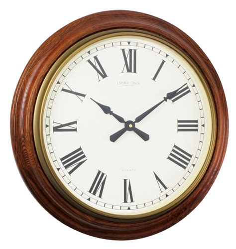 giant wall clock wall clock london clock company antique oak large wall