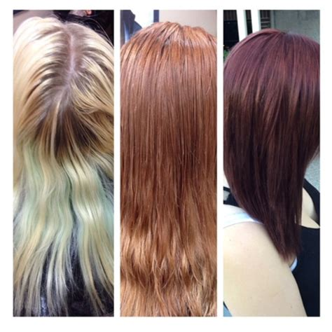 eufora hair color color correction after repeated home bleaching hair