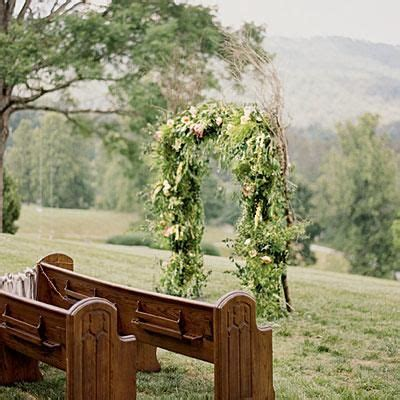 affordable simple smoky mountain wedding ceremony 1000 ideas about outdoor wedding arches on pinterest