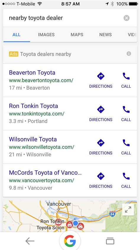 Launches Its Mobile Search Ads For Auto