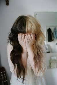 half half brown hair melanie martinez hair pinterest