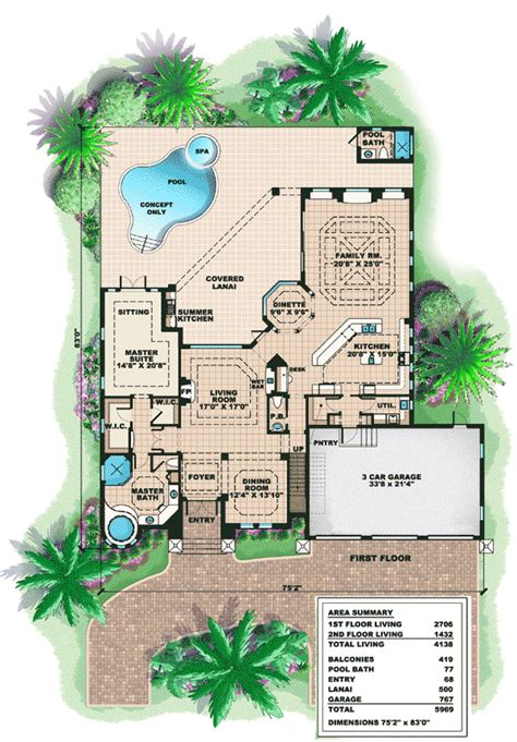 plan w66180we beautiful tuscan appeal e architectural design