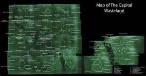Fallout 3 World Map by Fallout 3 Console Commands All Locations