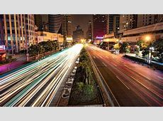 Busy Road in Shanghai at Night Wallpaper - City ... Xperia Z3