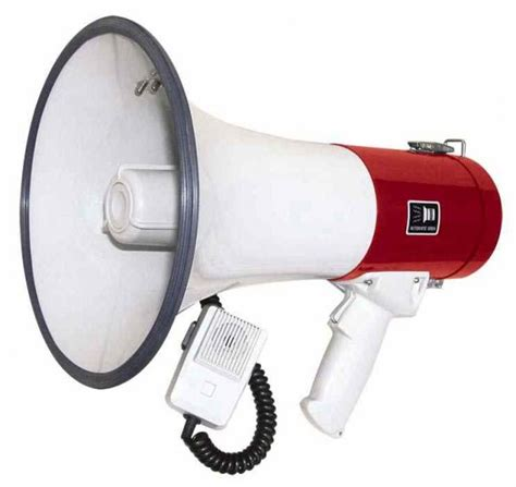 Handgrip Megaphone Pa Speakers Pistol Grip Megaphone Was Listed For R685 00 On 22 May At 23 47 By Ebnivi In